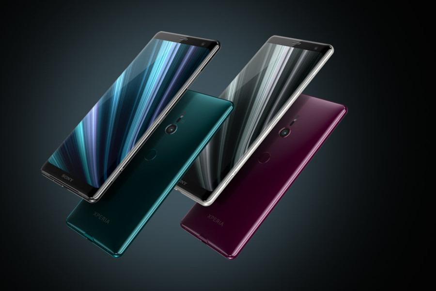 Premiera Sony Xperia XZ3