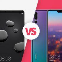 Huawei Mate 10 Pro vs Huawei P20 Pro