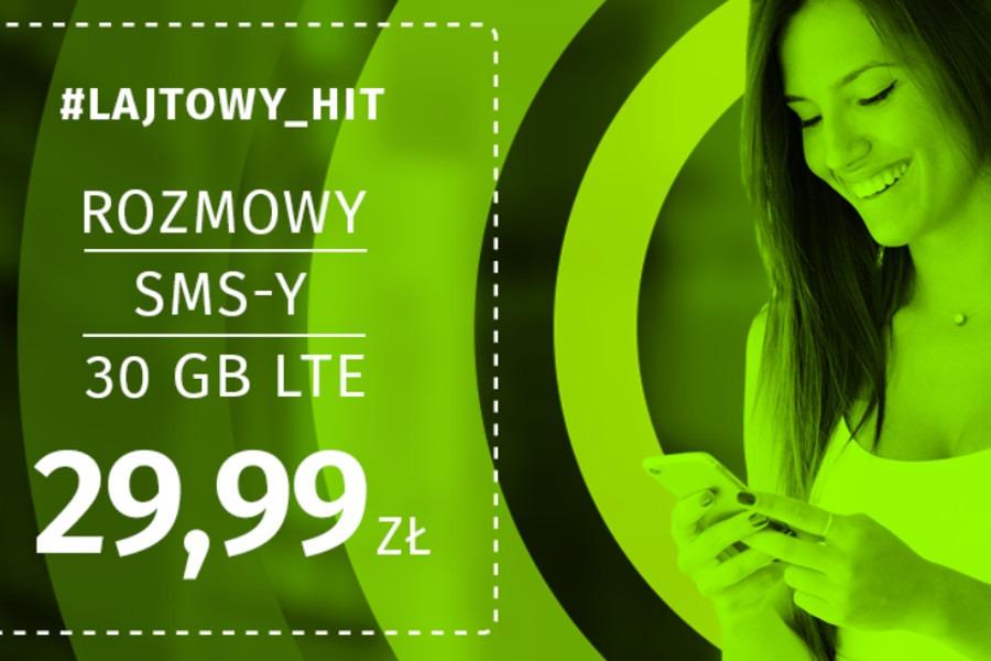Lajt Mobile 30 GB