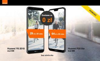 Telefony w Orange bez abonamentu z dostawą za 0 zł