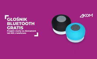 Głośnik bluetooth gratis w Plusie
