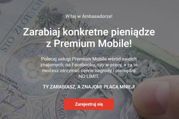 Premium Mobile program lojalnościowy