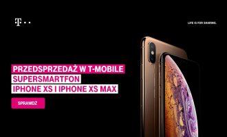 iPhone XS i XS Max – przedsprzedaż w T-Mobile od 1459 zł