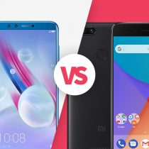 Xiaomi Mi A1 vs Honor 9 Lite