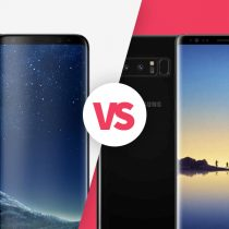 Samsung Galaxy S8+ vs Samsung Galaxy Note 8