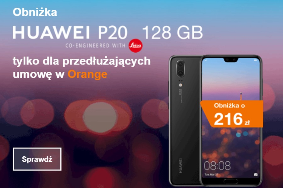 Huawei P20 abonament