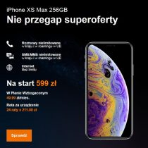 Superoferta w Orange – iPhone XS 256 GB za 599 zł