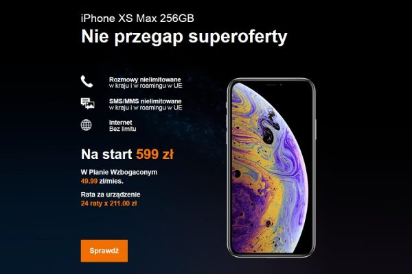 iPhone XS abonament
