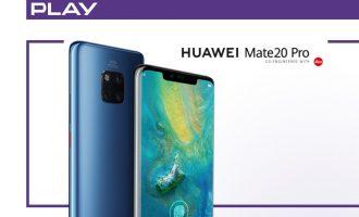 Huawei Mate 20 Pro w przedsprzedaży Play od 499 zł!