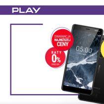 Nokia 5.1 w Play bez umowy z rabatem 250 zł