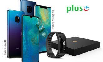 Przedsprzedaż Huawei Mate'a 20 i 20 Pro w Plusie od 199 zł!