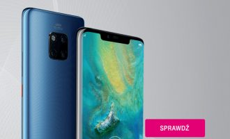 Huawei Mate 20 Pro + prezent od 279 zł – przedsprzedaż T-Mobile