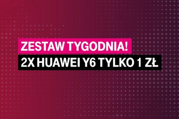 Huawei Y6 za 1 zł