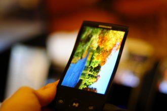 Elastyczny smartfon