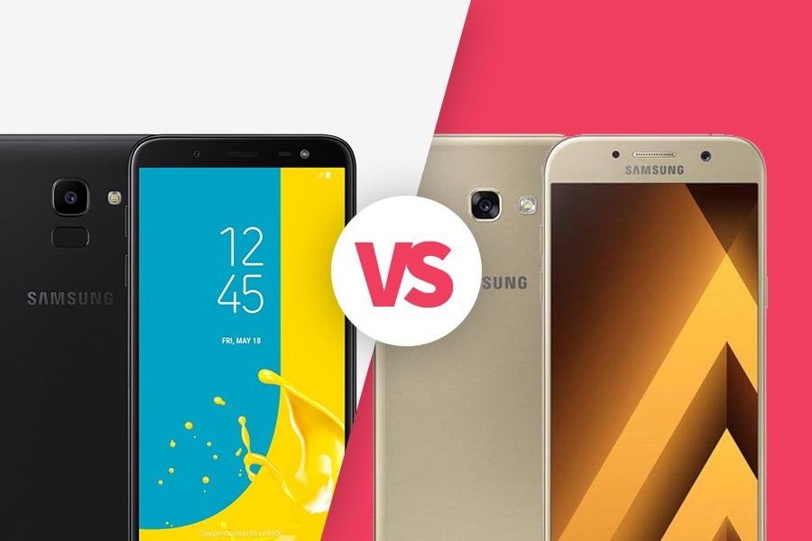Galaxy J6 vs Galaxy A5 (2017)