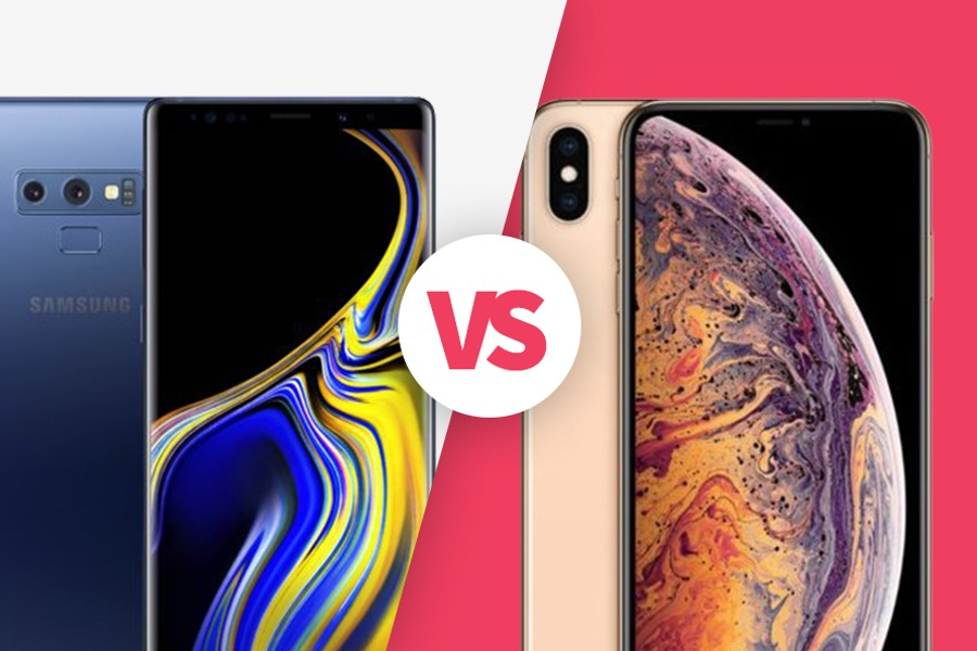 Samsung Galaxy Note 9 Vs Iphone Xs Max Komorkomat Pl