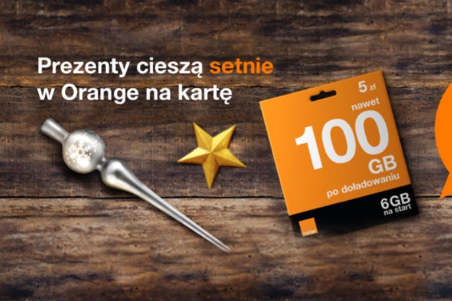 Orange 200 zł gratis na start