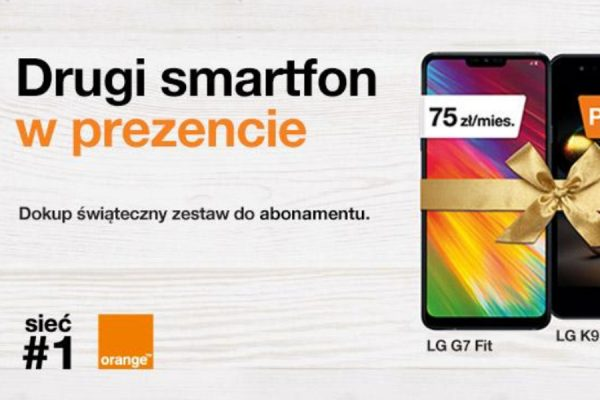 Drugi telefon Orange w prezencie