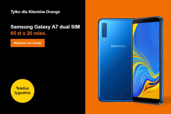 Samsung Galaxy A7 na raty