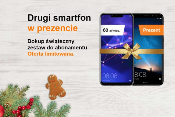 Drugi smartfon w prezencie Orange