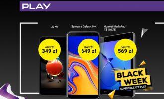 Black Friday i Cyber Monday w Play – przeceny o ponad 900 zł!