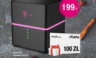 Nielimitowany Internet w T-Mobile + 100 zł do empik.com
