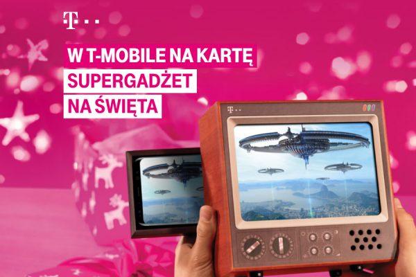 T-Mobile na kartę prezent na Święta