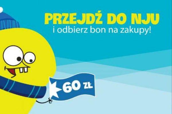 bon 60 zł w nju mobile