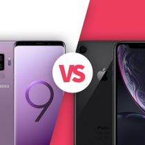 iPhone XR vs Samsung Galaxy S9