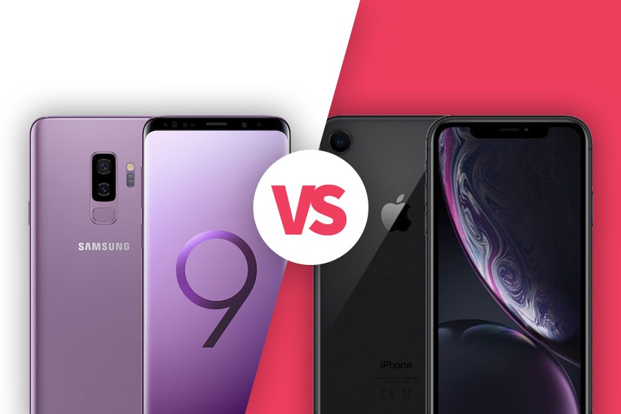 Galaxy S9 vs iPhone XR
