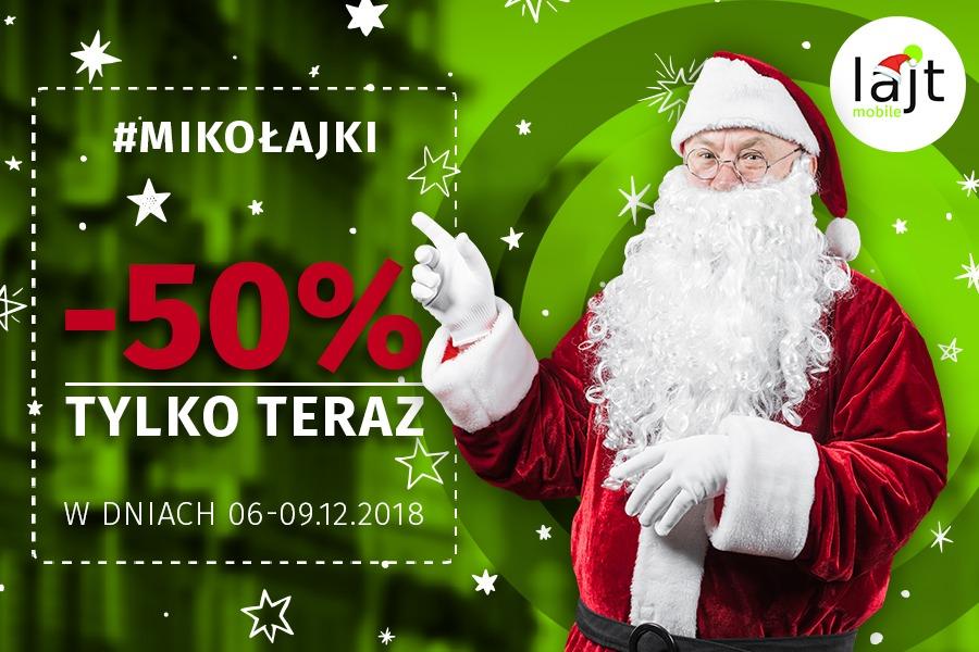 -50% rabat Lajt Mobile