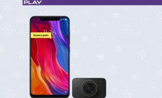 Xiaomi Mi 8 bez umowy w Play + kamera gratis