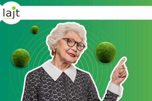 Lajt Mobile dla seniora
