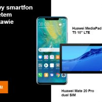 Huawei Mate 20 Pro + tablet w Orange bez umowy