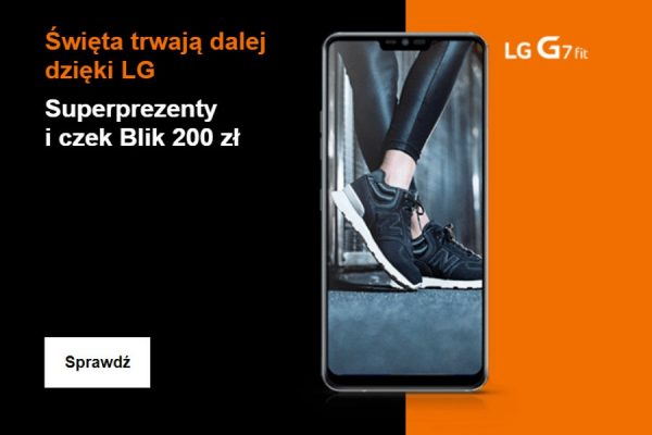 LG G7 Fit Orange