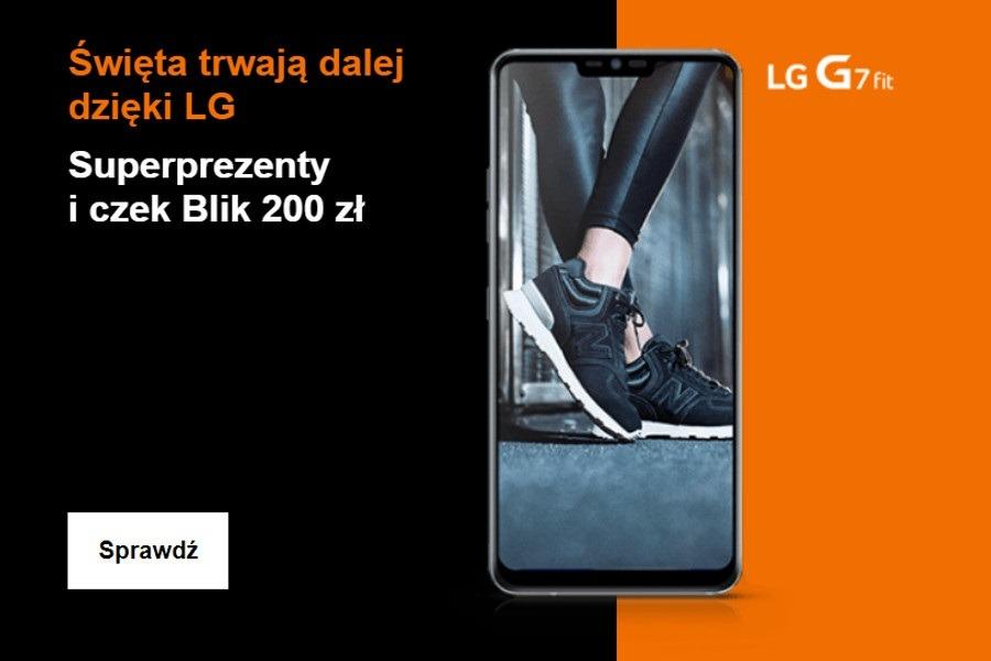 LG G7 Fit Orange