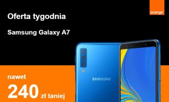 Samsung Galaxy A7 tańszy o 240 zł w Orange
