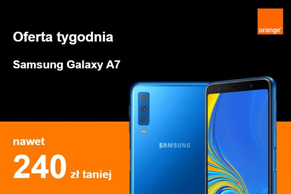 Orange Galaxy A7 promocja