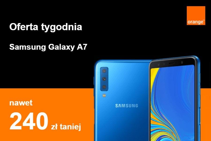 Orange Galaxy A7 promocja