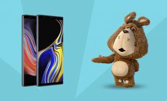 Samsung Galaxy Note 9 w Plushu – ochrona wyświetlacza