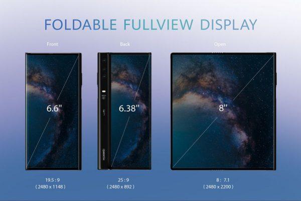 składany Huawei Mate X