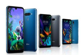 telefony LG 2019
