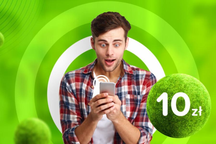 Lajt Mobile 10 GB za 10 zł