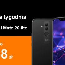 Telefon tygodnia w Orange – Huawei Mate 20 Lite taniej o 168 zł