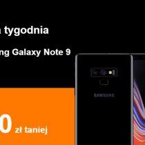 Telefon tygodnia w Orange – Samsung Galaxy Note 9 tańszy o 600 zł!