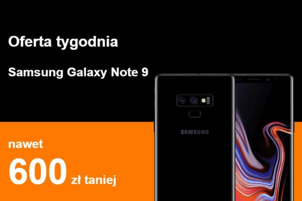 Galaxy Note 9 rabat abonament