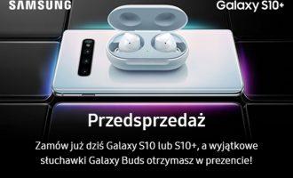 Przedsprzedaż Samsunga Galaxy S10 i S10+ z prezentem od 499 zł w Play