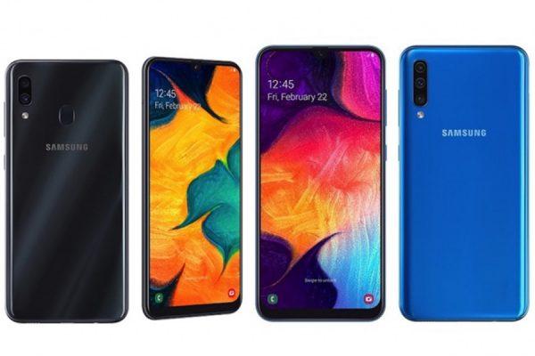 Galaxy A50 Galaxy A30