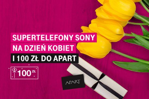 T-Mobile kod Apart 100 zł