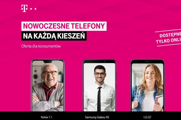 T-Mobile telefon od 9 zł